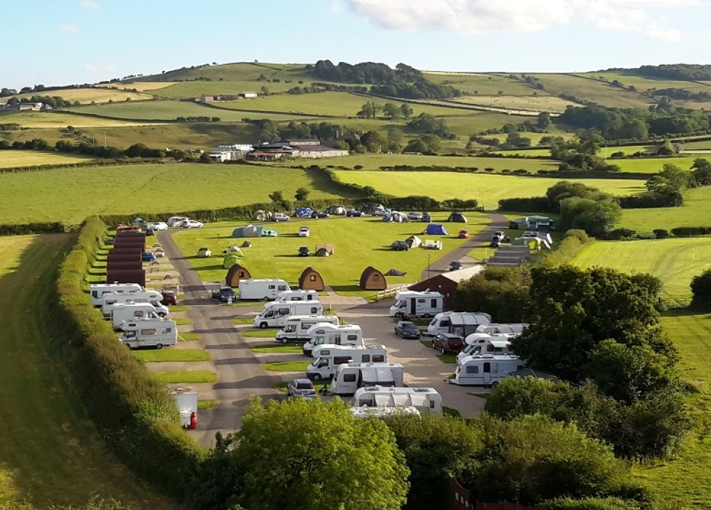 Touring, Gypsy Cabins & Main Camping Field at Middlewood Farm Holiday Park