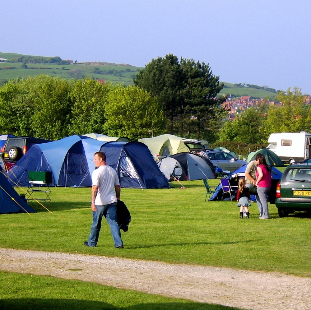 Camping at Middlewood Farm Holiday Park