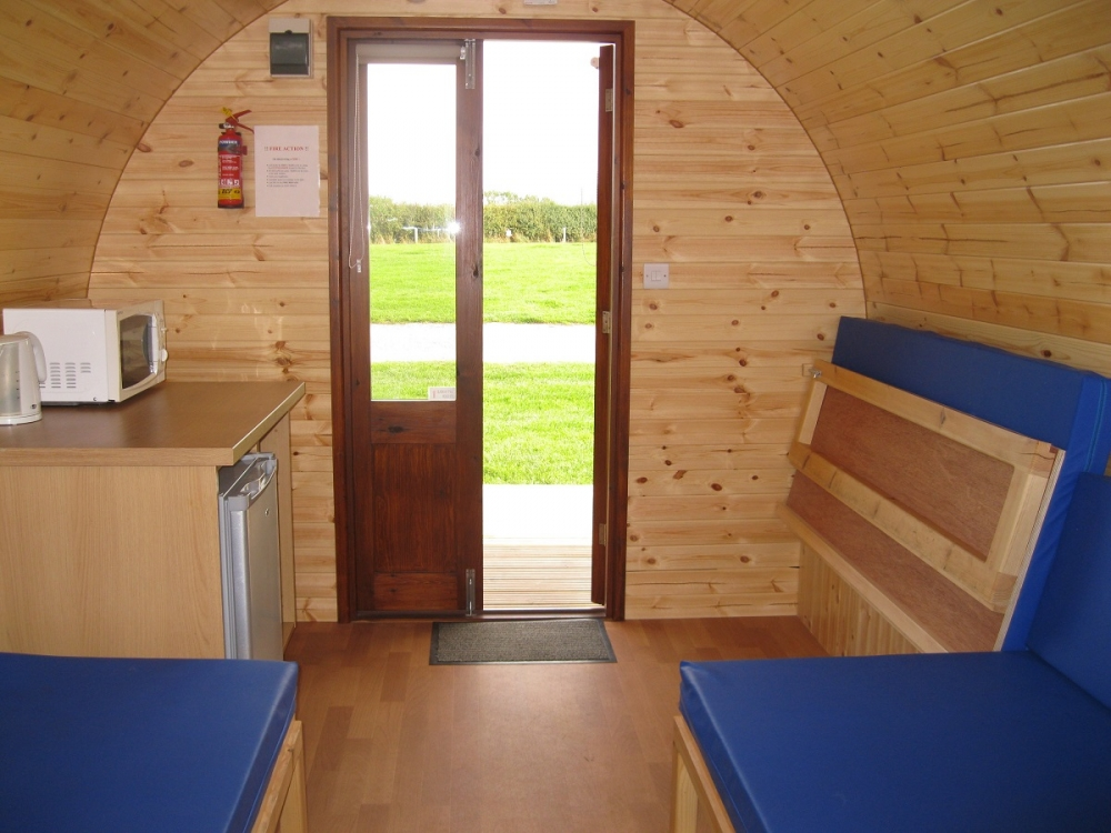 Gypsy Cabin Camping Pod at Middlewood Farm Holiday Park