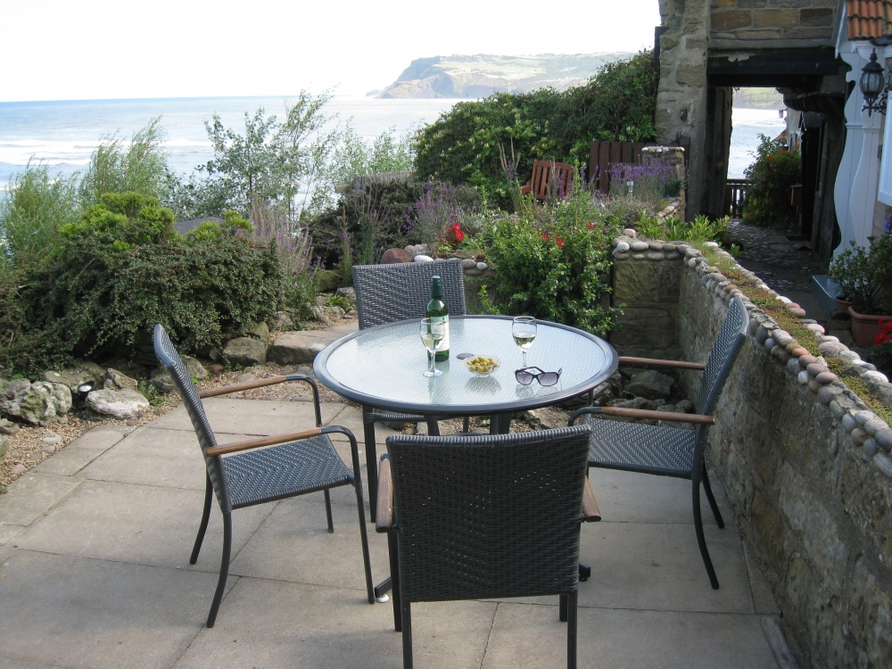 Summer Garden looking to Ravenscar