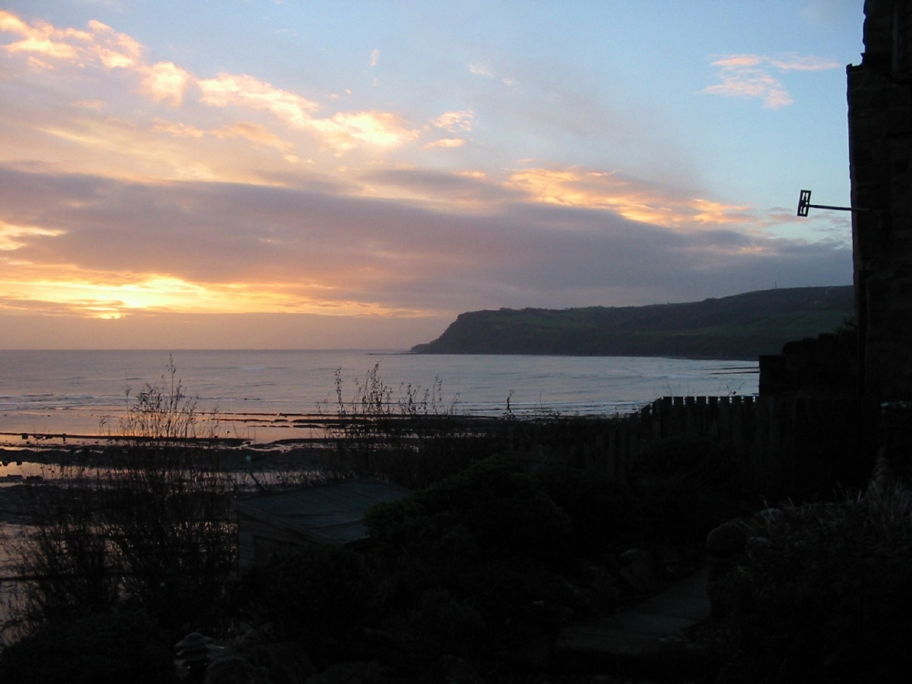 Sunrise over Ravenscar - is there a better view - anywhere?