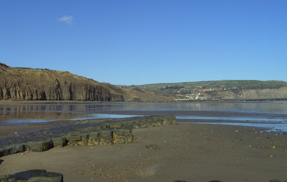 Looking from Stoupe Beck to Robin Hood's Bay