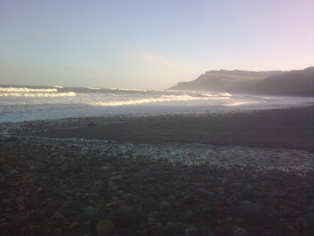 The beach at Boggle Hole