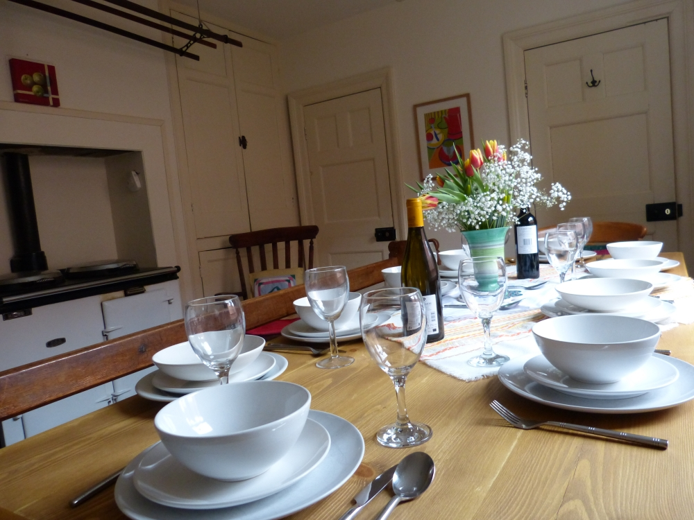 Dining Room with Aga